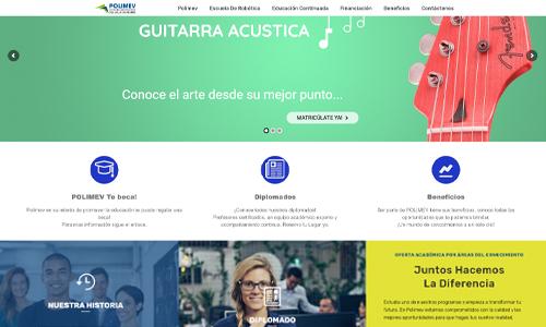 Diseño de sitio web educativo