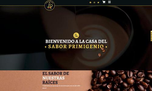 diseño web - café la prensa